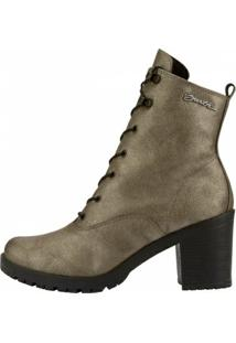 Bota Barth Shoes Wind Feminino - Feminino-Dourado