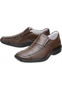 Sapato Social Mafisa Conforto Tabaco - Masculino-Tabaco