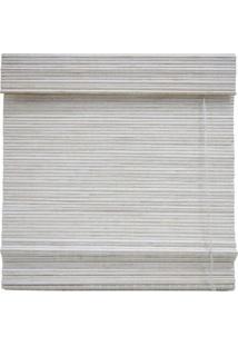 Persiana Block Bambu Romana Branca Topflex