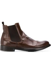 Officine Creative Ankle Boot Chelsea - Marrom