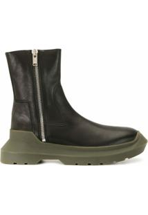 Undercover Ankle Boot Com Solado Chunky - Preto