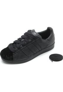 fe2e9644185 ... Tênis Couro Adidas Originals Superstar Preto