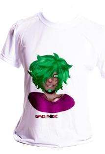 Camiseta Branca Prorider Bad Rose Personagem Autoral Nanami Nem Nill - Branco - Feminino - Poliã©Ster - Dafiti