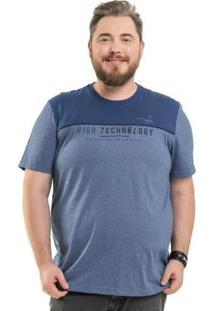 Camiseta Technology Azul Bgo