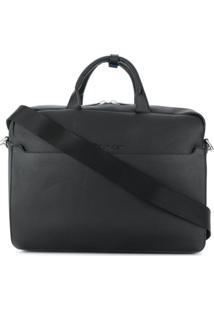 Calvin Klein Textured Laptop Bag - Preto