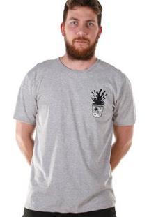 Camiseta Bandup! Bdp Clothing Bartender Masculina - Masculino-Mescla
