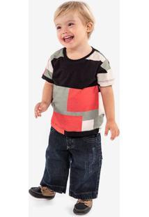 Camiseta Geométrica Niños 500067