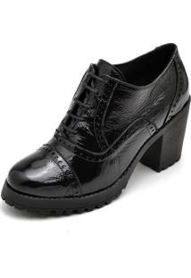 Bota Leticia Alves Ankle Boot 19000 Preto