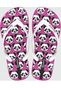 Chinelo Feminino Estampa Panda Ipanema 26381