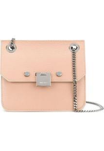 Jimmy Choo Bolsa Transversal Mini 'Rebel' - Rosa