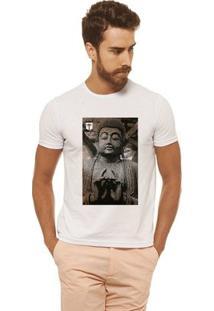 Camiseta Joss - Quandro Buda - Masculina - Masculino-Branco