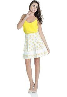 Blusa Colcci - Feminino-Amarelo