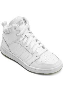 852fd6138 R$ 379,89. Netshoes Tênis Couro Cano Alto Adidas Cf Super Hoops Mid W  Feminino ...