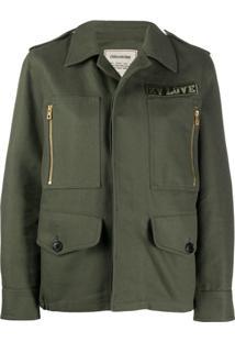 Zadig&Voltaire Kode Military Jacket - Verde