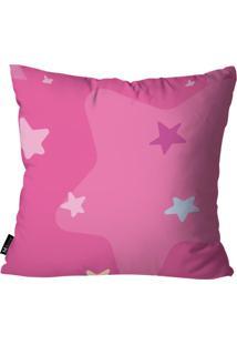 Capa Para Almofada Mdecore De Unicórnio Pink 55X55