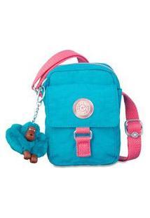 Bolsa Kipling Teddy - Azul
