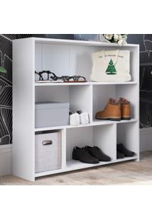 Armário Multiuso 6 Prateleiras Mo080 Branco - Art In Móveis