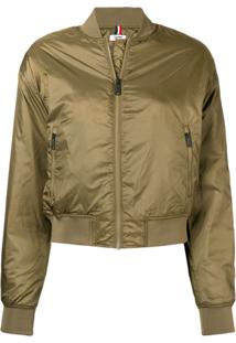 Tommy Jeans Jaqueta Bomber - Green
