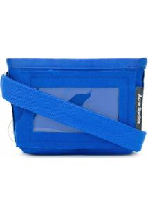 Acne Studios Stitched Mini Shoulder Bag - Azul