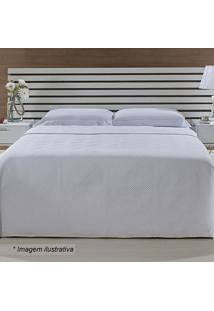 Colcha Portuguesa Queen Size- Off White- 240X260Cm
