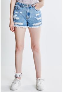 Short Jeans Super Destroyed