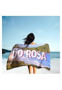 Toalha De Praia / Banho Praia Do Rosa Único