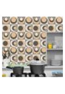 Adesivo De Azulejo Abstract 15X15Cm
