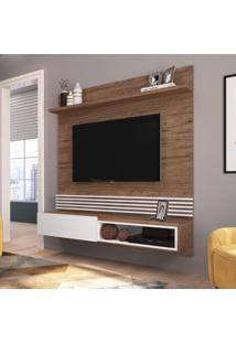 Painel Para Tv Até 65 Polegadas 1 Porta 1 Nicho 1 Prateleira Estilare