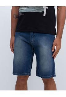 Bermuda Em Jeans