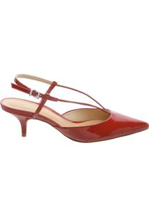 Scarpin Kitten Heel Thin Tango Red | Schutz