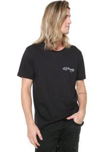 Camiseta Ed Hardy Tiger Head Preta