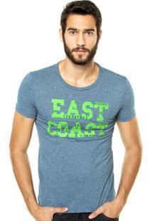 Camiseta Benetton East Side Azul