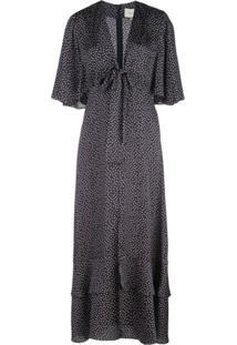 Alexis Kasany Midi Dress - Azul