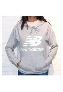 Blusa De Moletom New Balance Canguru P Incolor