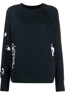 Zadig&Voltaire Upper Brode Jormi Sweater - Azul