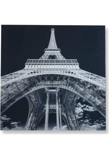 Quadro Em Vidro Eiffel 80Cm