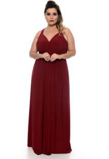 Vestido Domenica Solazzo Lady Rubi Plus Size