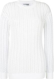 Courrèges Blusa De Tricô - Branco