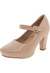 Sapato Feminino Salto Alto Piccadilly - 693015 Bege