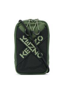 Kenzo Cross Logo Mini Bag - Green