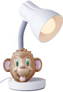 Luminária De Mesa Macaco - Startec - Branco