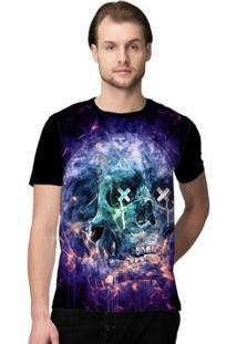 Camiseta Stompy Skull Ink Masculina - Masculino