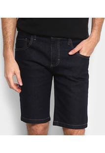 Bermuda Jeans Slim Forum Masculina - Masculino-Jeans