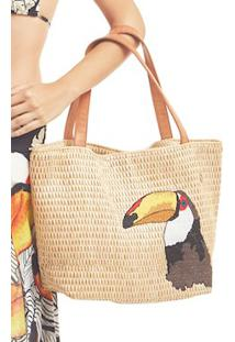 Bolsa Rafia Bordado - New Beach