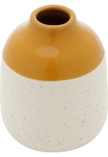 Vaso Decorativo De Cerâmica E Granilite Alboni Ii