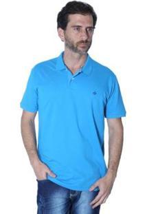 Camisa Polo Mister Fish N·Utico Masculina - Masculino-Azul Turquesa