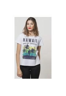 Camiseta Jay Jay Basica Endless Summer Branca Dtg