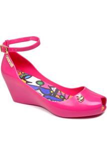 Sandália Miss Miss Anabela - Feminino-Pink