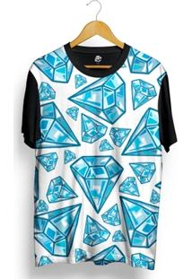 Camiseta Bsc Blue Diamonds Full Print - Masculino
