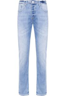 Calça Masculina Skinny Hartbert - Azul